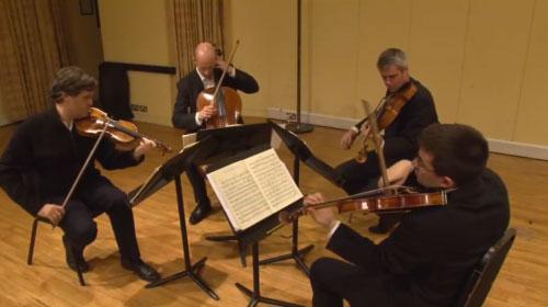 Brahms Quartet Bowings