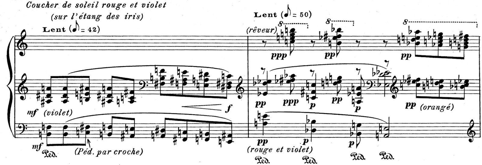 La Rousserolle Effarvatte Olivier Messiaen