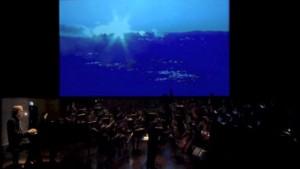 Trois Petites Liturgies Video Colour Visualization