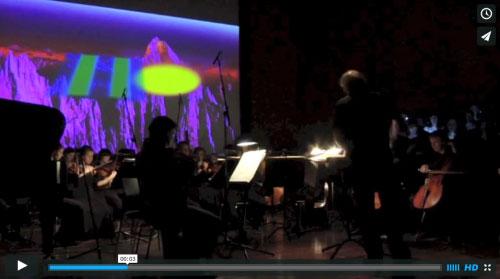 Trois Petites Liturgies Video Colour Visualization4