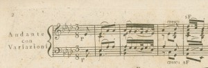 Beethoven Sonata A flat Major 1st movement Adante Con Variazoni