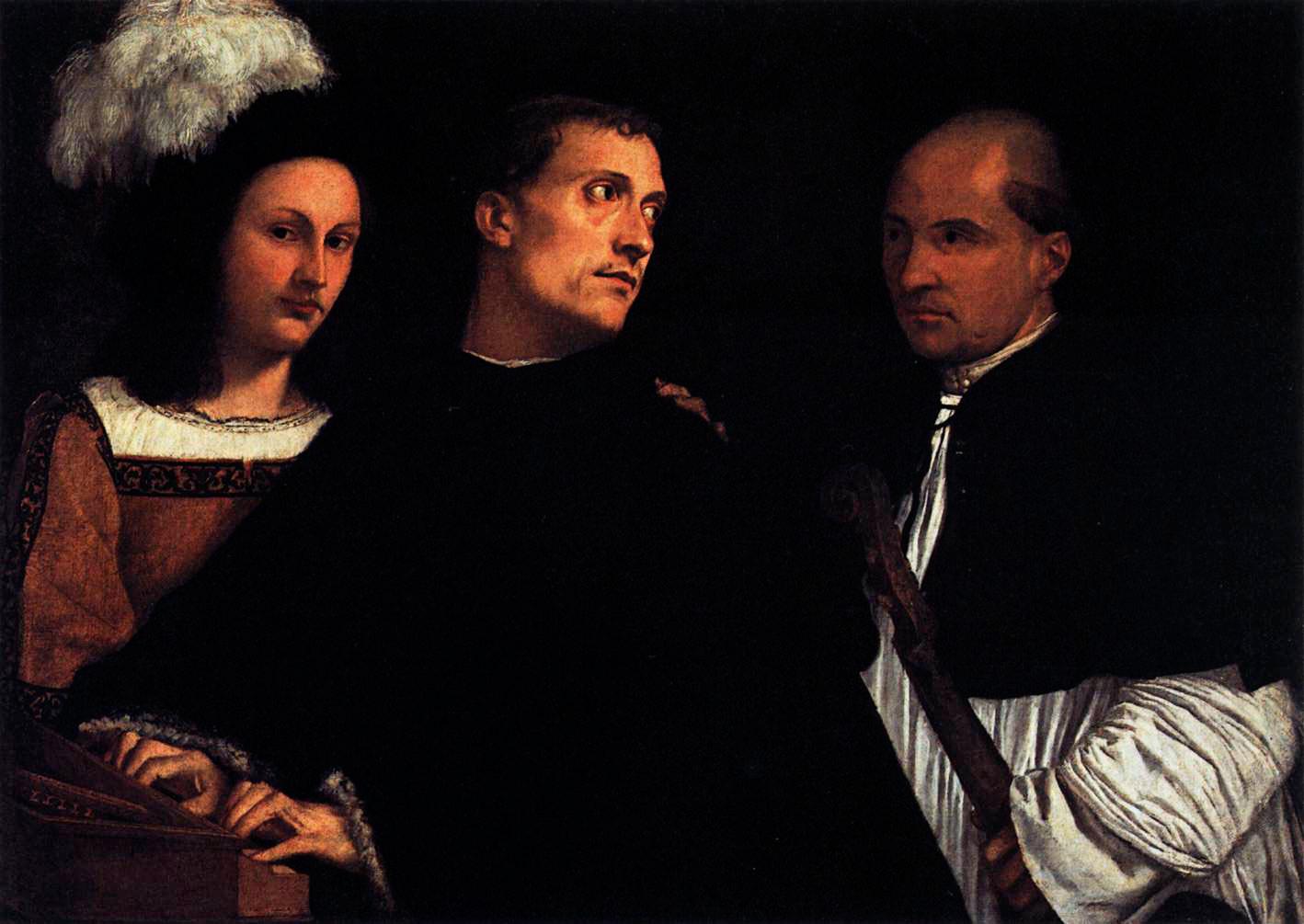 Figure 2: Giorgione/Tiziano: Il Concerto, 1512