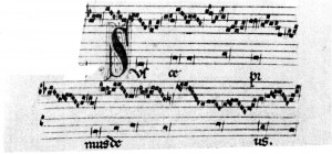 Suscepimus Deus Manuscript F Pluteo 29 1 Facsimile Reproduction Manuscript Ed Luther Dittmer